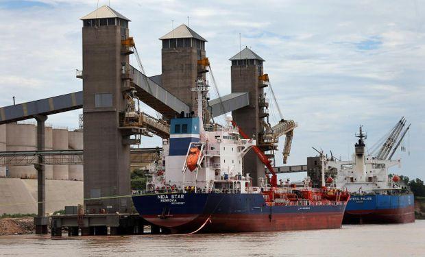 La exportación de trigo avanza a buen ritmo.
