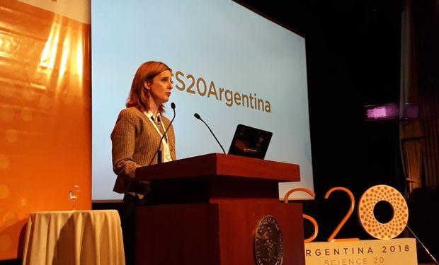 Erica Hynes, ministra de Ciencia, Tecnología e Innovación Productiva.