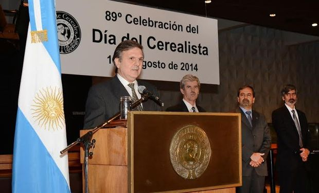 Presidente de la Bolsa de Cereales, Ing. Agr. Ricardo Marra