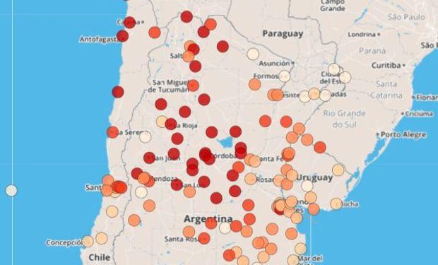 Provee datos, información y conocimiento sobre las sequías para mitigar o reducir los impactos
