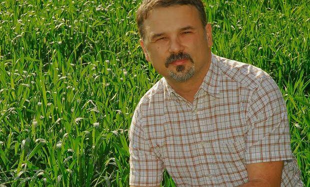 Diego Ferraro, docente de la cátedra de Cereales de la FAUBA e investigador del Conicet. Foto: FAUBA.