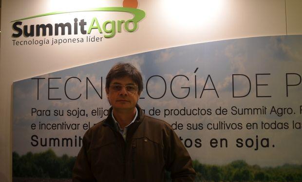 Diego Gandulfo, Gerente Comercial de Summit Agro.
