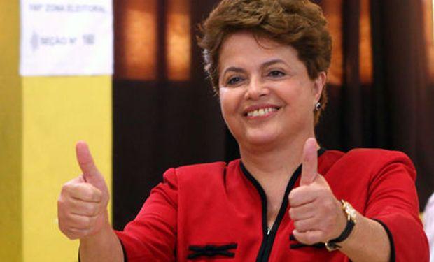 """""""Queremos que la producción agrícola siga creciendo y abastezca con seguridad y precios adecuados tanto al mercado interno como al externo"""", indicó Rousseff."""