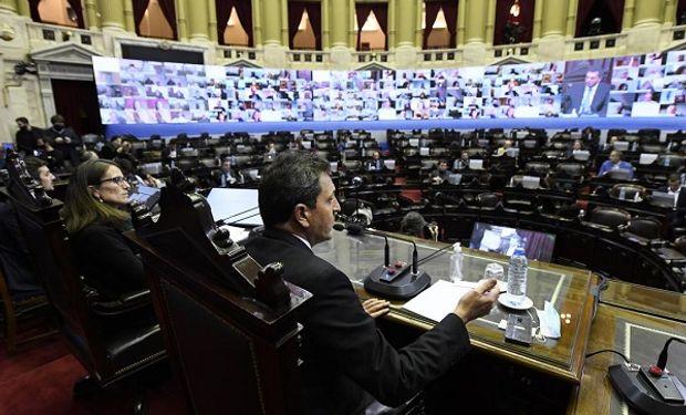 Educación a distancia y salud: los principales temas que tratarán Diputados y el Senado