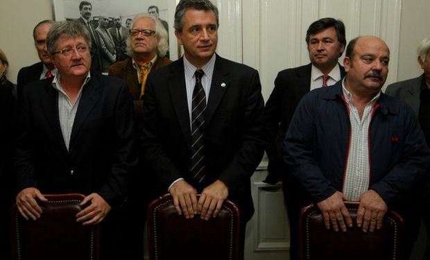 Ferrero, Etchevehere y Mailland  Foto: Hernán Zenteno.