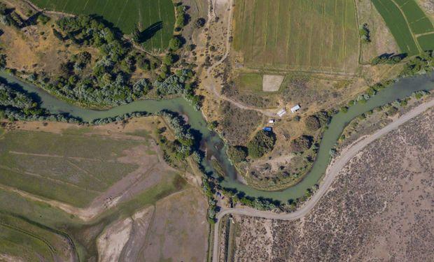 Científicas argentinas elaboran mapas de cultivo para cuidar el agua en la Patagonia con inteligencia artificial de Microsoft.