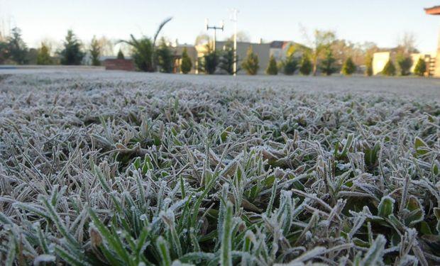 Irrupción de aire frío sobre el sur y centro del país.