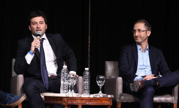 Bernardo Milesy, fundador de Glocal y Federico Trucco, CEO de Bioceres.