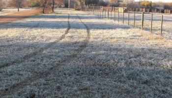 Marcas de 6° bajo cero y otra vez sin lluvias en el oeste
