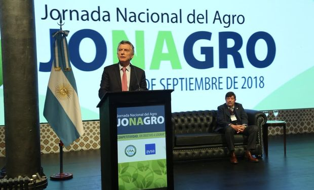 El discurso del presidente Macri en Jonagro.