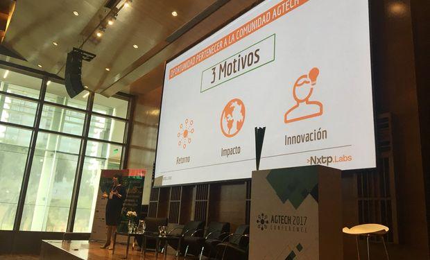 Marta Cruz, socia fundadora de NXTP Labs, en el panel de apertura.