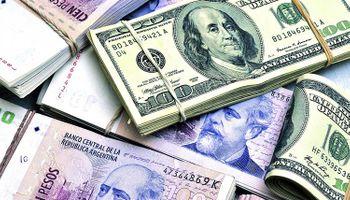 El freno del Central al mayorista congeló al dólar oficial