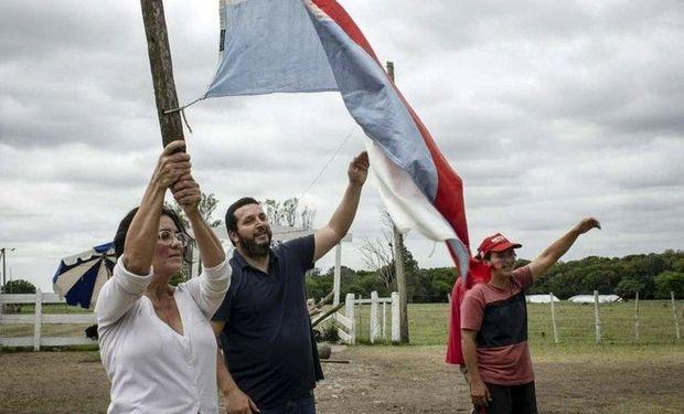 Funcionarias nacionales, provinciales y legisladoras del Frente de Todos brindaron su apoyo a Dolores Etchevehere