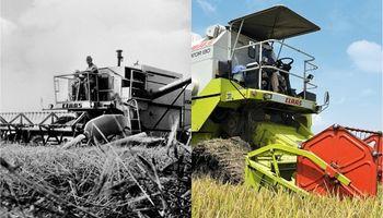 El Dominator sigue vivo: así evolucionó la cosechadora que lleva a la venta más tiempo que cualquier otra máquina