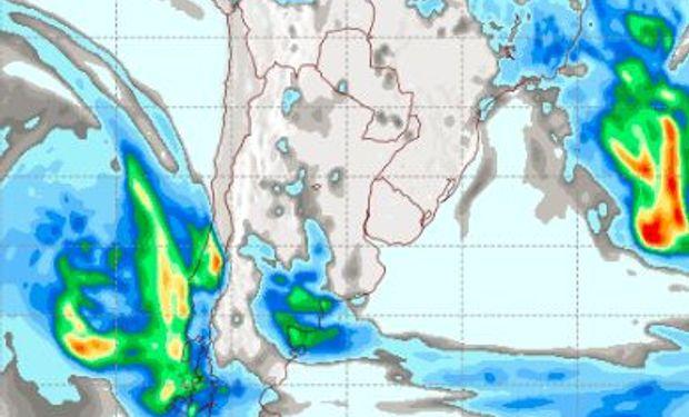Pronóstico de lluvias para el domingo 7 de mayo.