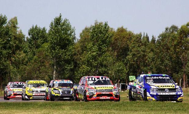 Carrera de TC Pick-up.