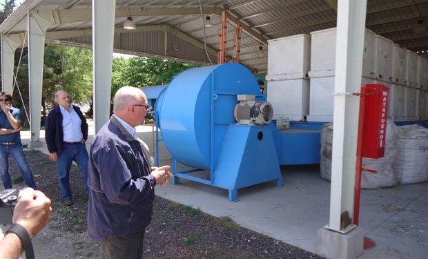 Arturo Baletka, Site Manager de la Estación Experimental de Syngenta en Santa Isabel.
