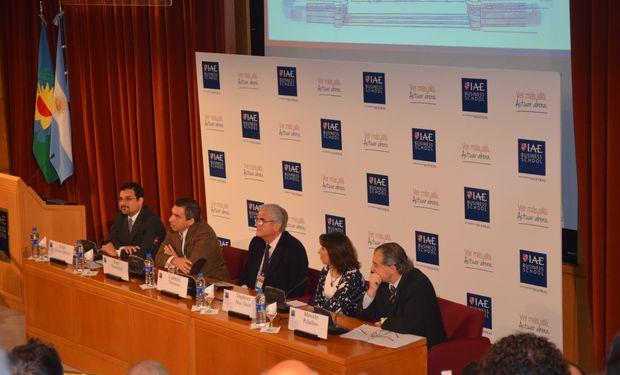 Disertantes de la apertura de Argentina Visión 2020