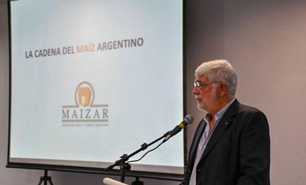 Alberto Morelli, presidente de Maizar, destacó que el trabajo realizado en los lotes demostrativos muestra un mayor rendimiento de un cultivo que estará, indefectiblemente, destinado a la conversión en proteína animal.
