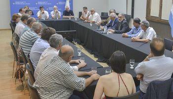 AFA y FECOFE se reunieron con Basterra con un eje en común: pequeños productores