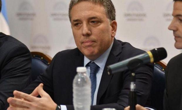 Nicolás Dujovne presentando el Presupuesto 2019 en el Congreso de la Nación