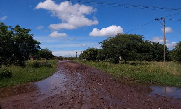 El norte de Santa Fe luego de las intensas lluvias.