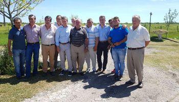 Macri se reunió con productores en la zona afectada por inundaciones