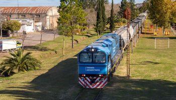 Trenes Argentinos transportó en mayo un 39 % más que en 2020 y los productos agrícolas mantuvieron una alta participación