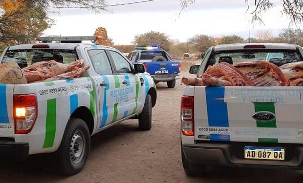 Córdoba: decomisaron 16 medias reses en un establecimiento clandestino de faena