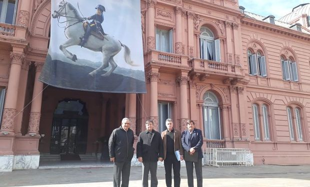 Encuentro de la Mesa de Enlace con Macri.