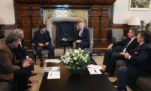La Mesa de Enlace mantuvo un encuentro con el presidente Mauricio Macri y el Ministro de Agricultura, Luis Miguel Etchevehere.