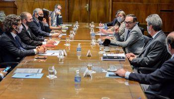 El Gobierno vuelve a reunirse con el Consejo Agroindustrial Argentino y avanza la diagramación de incentivos