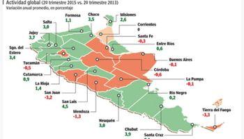 Precios y commodities en baja ponen en jaque a las economías regionales