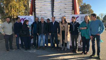 Por primera vez, Neuquén exportó nueces a Dubai