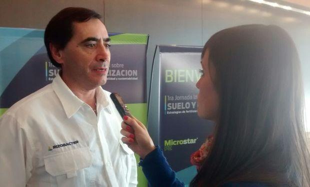 Ing. Agr. Eduardo Cicerone, Responsable de Productos para Nutrición de Rizobacter.