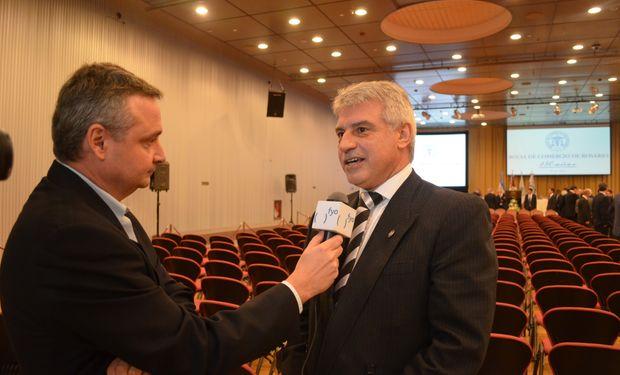Eduardo Romagnoli, Presidente del Rosgan. Foto de archivo fyo.
