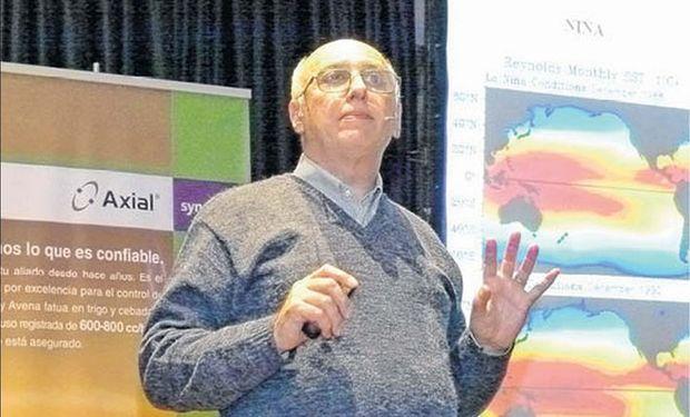 Ingeniero Agrónomo, especialista en agroclimatología y catedrático de la UBA, Eduardo Sierra.