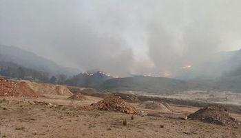 Alerta en la sierras cordobesas por diversos focos de incendios