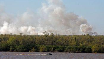 Incendio en las islas: realizarán un monitoreo satelital y por drones