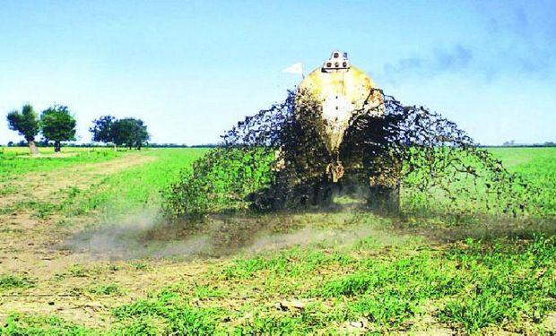 En el caso de la producción porcina, el destino final más económico para reponer nutrientes es su aplicación al suelo.