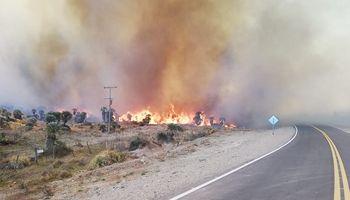 Córdoba: el 60% del incendio forestal está contenido pero se sigue trabajando