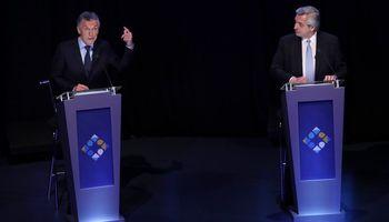 Corrupción y pobreza: los cruces entre Fernández y Macri que marcaron el debate