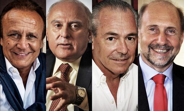 Del Sel, Lifschitz, Barletta y Perotti aspiran a gobernar la provincia de Santa Fe.