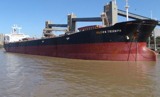 No hay actividad en los puertos de granos