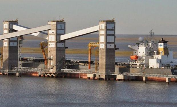 La cooperativa ACA encabeza los embarques de granos.