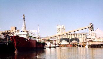 Caen los embarques desde Bahía Blanca