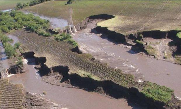 En ambos casos se trata de explotaciones afectadas por tormentas de lluvia extraordinaria.