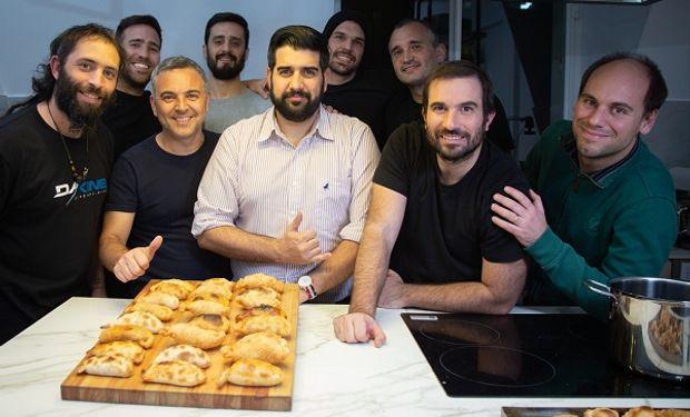 Parte del equipo emprendedor de Las Empanadas.