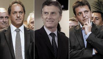 Encuesta: Scioli -Zannini ganarían las PASO por una diferencia de casi 8 puntos
