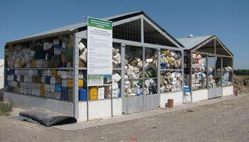 Récord en envases fitosanitarios: más de medio millón de kilos de plástico recuperados